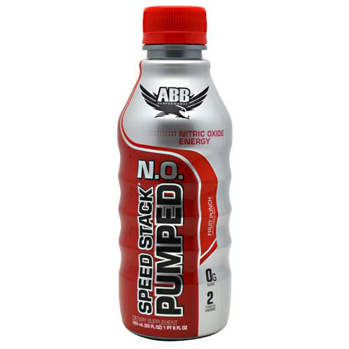 ABB Speed Stack Pumped N.O. - Fruit Punch - 12 Bottles - 00045529888562