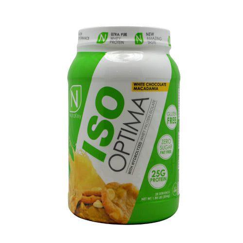 Nutrakey Iso Optima - White Chocolate Macadamia - 2 lb - 851090006386