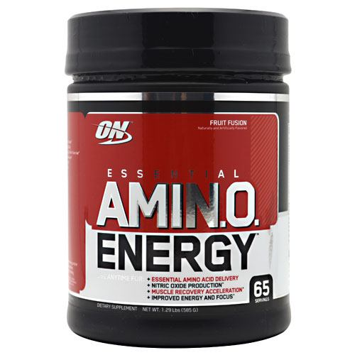 Optimum Nutrition Essential Amino Energy - Fruit Fusion - 65 Servings - 748927023374