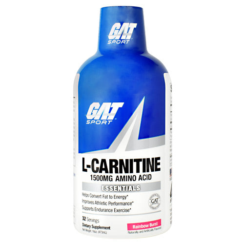 GAT Essentials L-Carnitine - Rainbow Burst - 16 oz - 816170021918