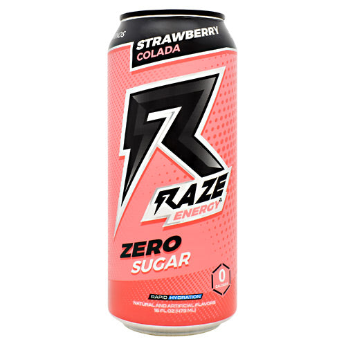 Repp Sports Raze Energy - Strawberry Colada - 12 Cans - 854531008369