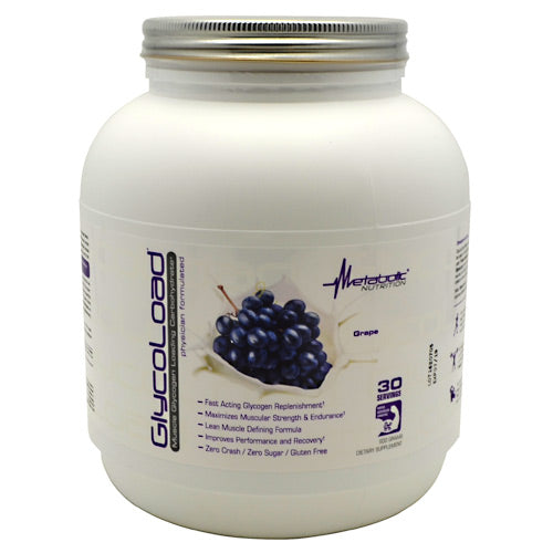 Metabolic Nutrition GlycoLoad - Grape - 600 g - 764779600785