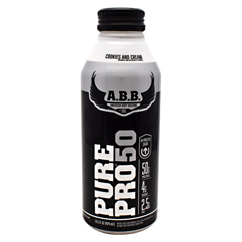 ABB Pure Pro 50 - Cookies & Cream - 12 Bottles - 00045529856684