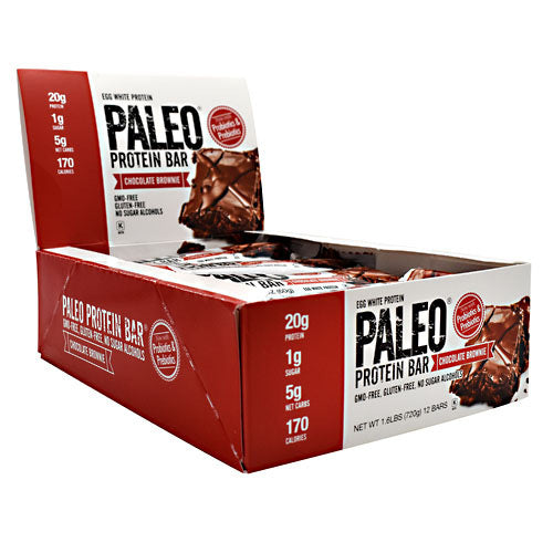 Julian Bakery Paleo Protein Bar - Chocolate Brownie - 12 Bars - 813926002825
