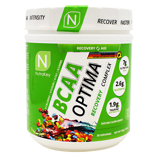Nutrakey BCAA Optima - Rainbow - 30 Servings - 851090006980