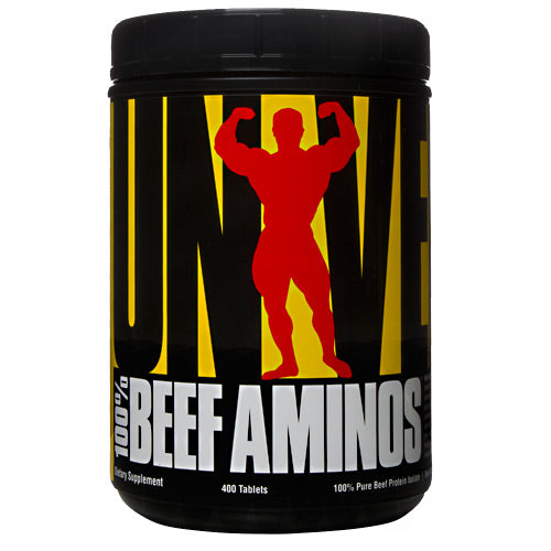 Universal Nutrition 100% Beef Aminos - 400 Tablets - 039442010667