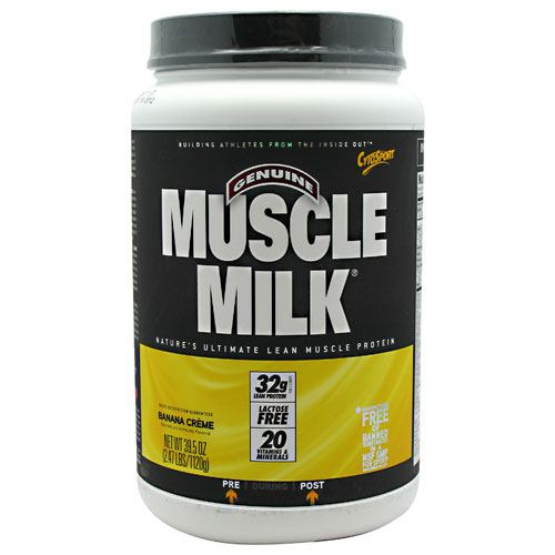 Cytosport Muscle Milk - Banana Creme - 2.47 lb - 660726503409