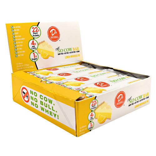 Ds Naturals No Cow Bar - Lemon Meringue Pie - 12 Bars - 852346005535