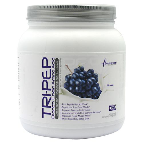 Metabolic Nutrition Tri-Pep - Grape - 40 Servings - 764779219925
