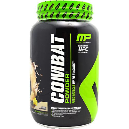 MusclePharm Hybrid Series Combat Powder - Vanilla - 2 lb - 736211050878