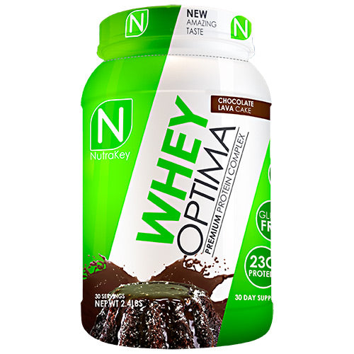 Nutrakey Whey Optima - Chocolate Lava Cake - 30 Servings - 851090006225