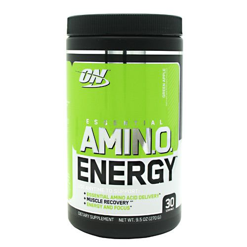 Optimum Nutrition Essential Amino Energy - Green Apple - 30 Servings - 748927051704