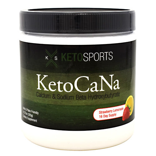 KetoSports KetoCaNa - Strawberry Lemonade - 16 Servings - 733428008098