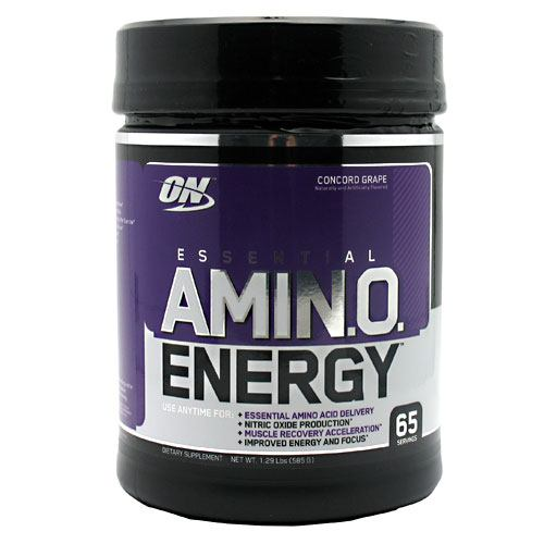 Optimum Nutrition Essential Amino Energy - Grape - 65 Servings - 748927022940