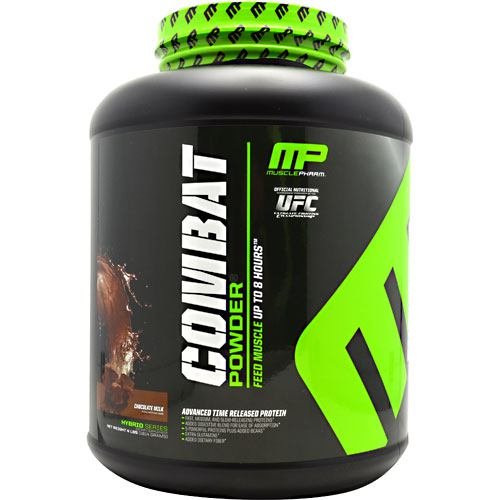 MusclePharm Hybrid Series Combat Powder - Chocolate Milk - 4 lb - 705105703862