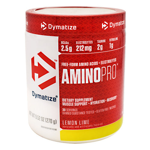 Dymatize AminoPro - Lemon Lime - 30 Servings - 705016180004
