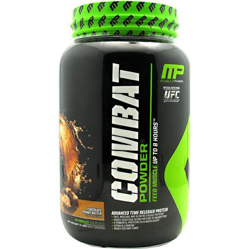 MusclePharm Hybrid Series Combat Powder - Chocolate Peanut Butter - 2 lb - 736211050472