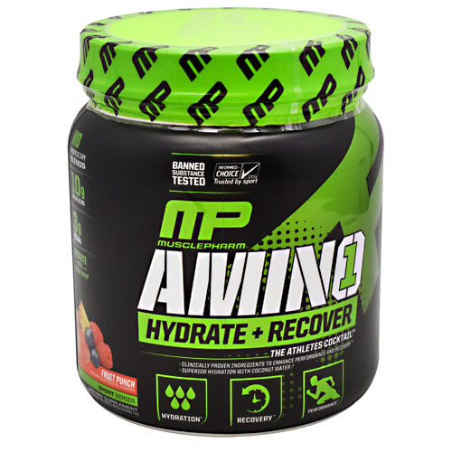 MusclePharm Sport Series Amino 1 - Fruit Punch - 30 Servings - 653341046215