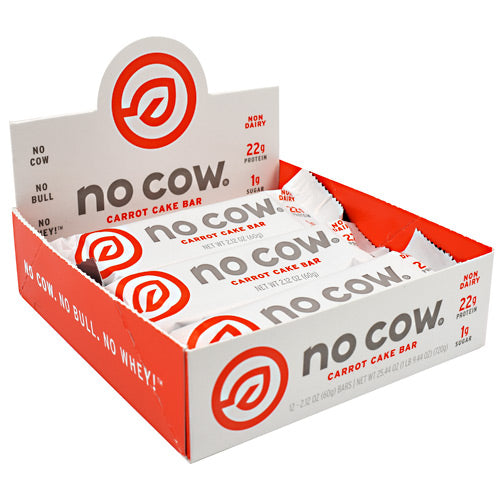 Ds Naturals No Cow Bar - Carrot Cake - 12 Bars - 852346005856