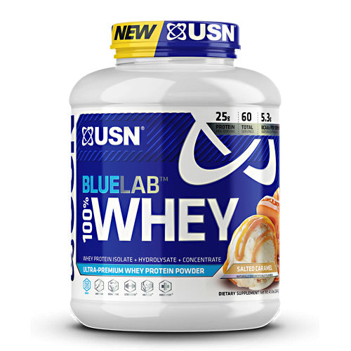 Usn Blue Lab 100% Whey - Salted Caramel - 4.5 lb - 6009706099503