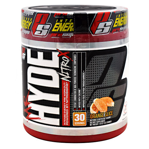Pro Supps Hyde Nitro X - Orange Slice - 30 Servings - 818253021778