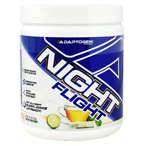 Adaptogen Science Night Flight - Chamomile Lime Tea - 30 Servings - 864313000450