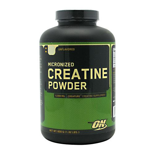 Optimum Nutrition Micronized Creatine Powder - Unflavored - 600 g - 748927023855