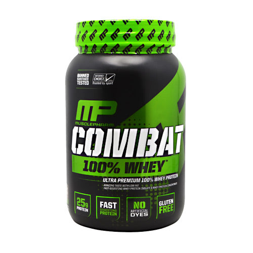 MusclePharm Sport Series Combat 100% Whey - Cookies N Cream - 2 lb - 019962717222