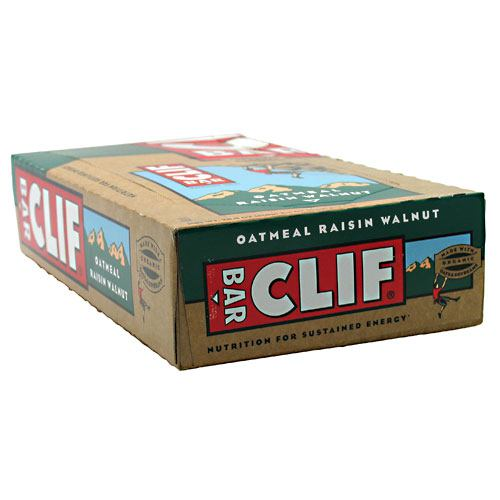 Clif Bar Bar Energy Bar - Oatmeal Raisin Walnut - 12 Bars - 722252500137