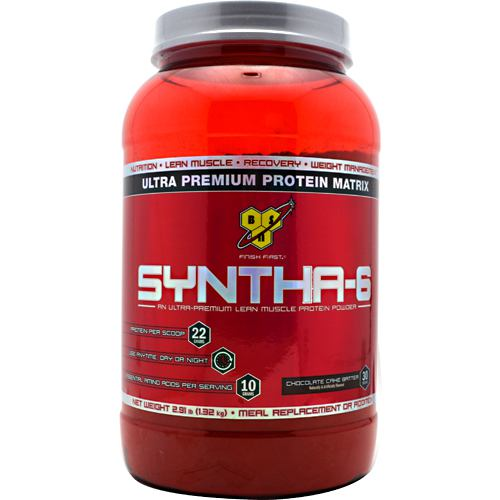 BSN Syntha-6 - Chocolate Cake Batter - 2.91 lb - 834266006427