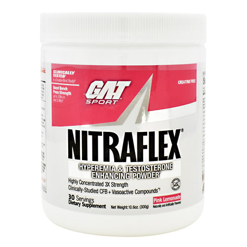 GAT Nitraflex - Pink Lemonade - 30 Servings - 816170022069