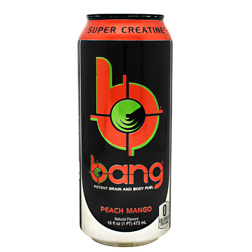 VPX Bang - Peach Mango - 12 Cans - 610764863829