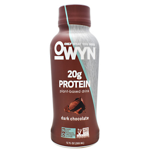 Only What You Need Protein Drink - Dark Chocolate - 12 Bottles - 10857335004992
