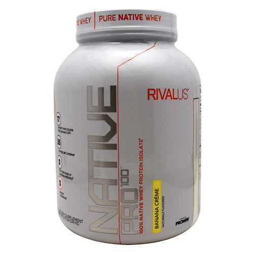 Rivalus Rivalus Native Pro 100 - Banana Cream - 1.2 kg - 807156002946