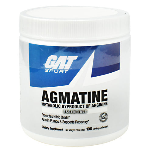 GAT Agmatine - Unflavored - 100 Servings - 859613220042
