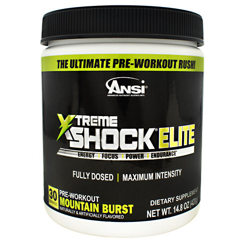 ANSI Xtreme Shock Elite - Mountain Burst - 30 Servings - 689570408821
