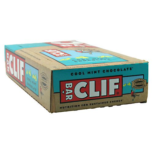 Clif Bar Bar Energy Bar - Cool Mint Chocolate - 12 Bars - 722252302007