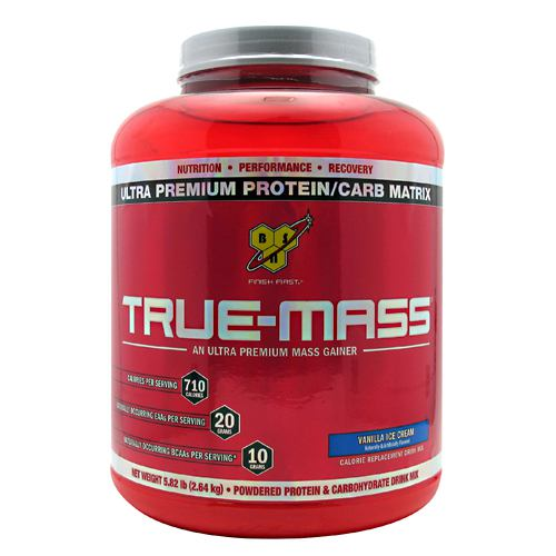 BSN True-Mass - Vanilla Ice Cream - 5.82 lb - 834266006601