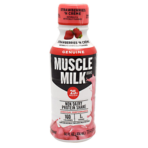 Cytosport Genuine Muscle Milk RTD - Strawberries N Creme - 12 Servings - 876063002295