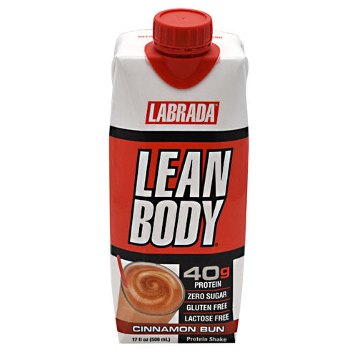 Labrada Nutrition Lean Body RTD - Cinnamon Bun - 12 ea - 710779005013