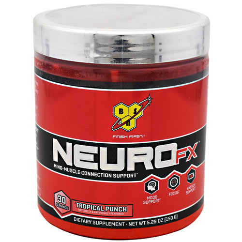 BSN Neuro FX - Tropical Punch - 30 Servings - 834266001484