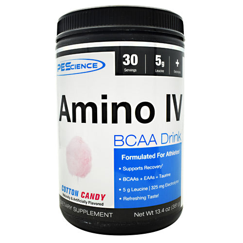 PEScience Amino IV - Cotton Candy - 30 Servings - 040232660993