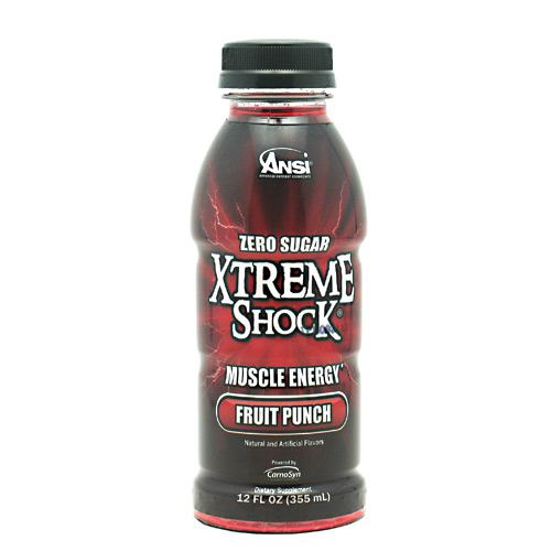 ANSI Xtreme Shock - Fruit Punch - 12 Bottles - 689570407336