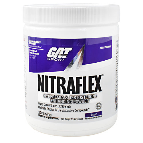 GAT Nitraflex - Grape - 30 Servings - 816170022144