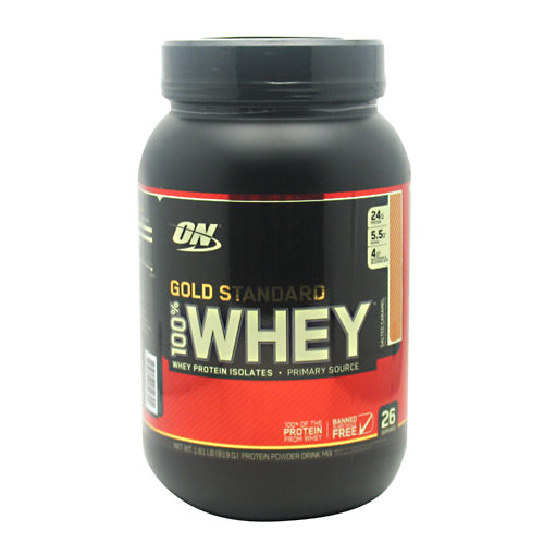Optimum Nutrition Gold Standard 100% Whey - Salted Caramel - 1.8 lb - 748927052794