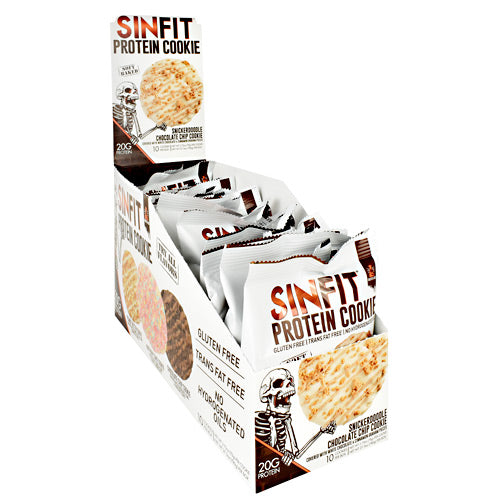 Sinister Labs Sinfit Cookie - Snickerdoodle Chocolate Chip Cookie - 10 ea - 853698007567