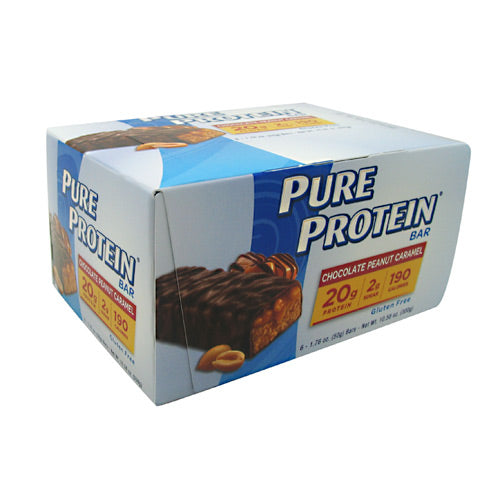 Pure Protein Pure Protein Bar - Chocolate Peanut Caramel - 6 Bars - 749826306759