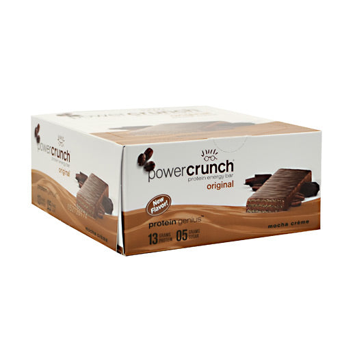 Power Crunch Power Crunch - Mocha Creme - 12 ea - 644225722202