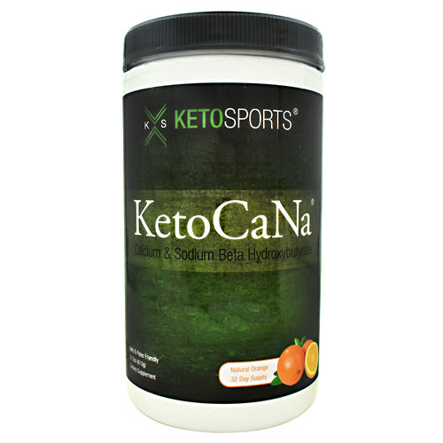 KetoSports KetoCaNa - Natural Orange - 32 Servings - 733428008135