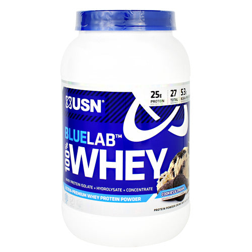 Usn Blue Lab 100% Whey - Cookies & Cream - 2 lb - 6009544910282